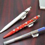 Caran d'Ache- Recharge Bleu Medium pour stylos Bille Caran d'Ache de la marque Caran d'Ache image 1 produit