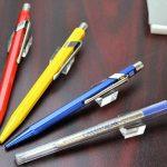 Caran d'Ache- Recharge Bleu Medium pour stylos Bille Caran d'Ache de la marque Caran d'Ache image 3 produit