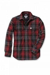 Carhartt Shirt Flanell Hubbard Longsleeve Slim Fit de la marque Carhartt image 0 produit