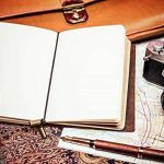 Carnet De Bord | Poche Journal Intime, Petit, Rechargeable, Idéal À L'Écriture, Aux Utilisateurs De Stylos-Plumes, À Offrir, En Voyage Ou Au Travail. Style Vintage Classique. Leather Journal Notebook (12.5 x 9cm) de la marque Wanderings image 4 produit