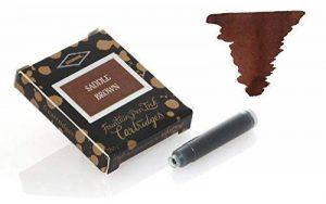 cartouche encre marron stylo plume TOP 4 image 0 produit