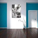 cerises fraîches sur l'effet de dessin au fusain de l'arbre, le format: 120x80 sur toile, XXL énormes Photos complètement encadrées avec civière, impression d'art sur murale avec cadre, moins cher que la peinture ou une peinture à l'huile, pas une affiche image 3 produit