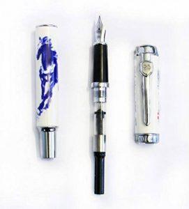 Cheval Jinhao 950 F stylo porcelaine fontaine Nib F 18 KGP de la marque Jinhao image 0 produit
