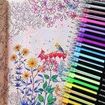 Ciaoed Lot de 48 Multicolores Stylos Billes à Encre Gel Pailleté pour Dessin Déco Scrapbooking Peinture de la marque Ciaoed image 6 produit