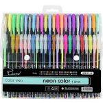 Ciaoed Lot de 48 Multicolores Stylos Billes à Encre Gel Pailleté pour Dessin Déco Scrapbooking Peinture de la marque Ciaoed image 1 produit