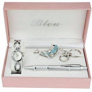 Coffret cadeau Montre Femme Porte clés Dauphin Stylo de la marque BELLOS image 0 produit