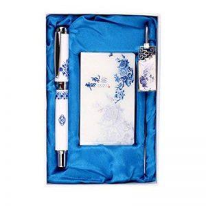 Coffret en céramique Motif Pen porcelaine bleue et blanche Rollerball Pen de la marque Blancho image 0 produit