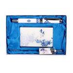 Coffret en céramique Motif Pen porcelaine bleue et blanche Rollerball Pen de la marque Blancho image 1 produit