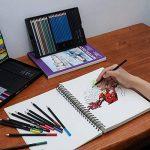 coffret fusain dessin TOP 14 image 4 produit