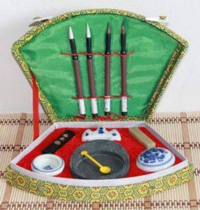 COFFRET INITIATION CALLIGRAPHIE CHINOISE de la marque Asia Art image 0 produit