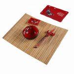 COFFRET REPAS spécial JAPONAIS - Motifs Fleurs de Cerisier de la marque Lachineuse image 2 produit