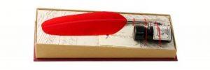Coles Kit calligraphie Petite plume d'oie/porte-plume/flacon d'encre de la marque Coles Calligraphy image 0 produit