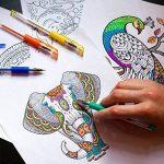 Color Technik stylos à encre gel brillant, lot de 50couleurs différentes, 40% d'encre en plus. Ensemble brillant de plus grande contenance, non toxique, qualité d'artiste par Color Technik, idéal pour illustrer des livres pour adultes, etc. Idéal comme i image 4 produit