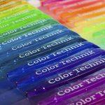 Color Technik stylos à encre gel brillant, lot de 50couleurs différentes, 40% d'encre en plus. Ensemble brillant de plus grande contenance, non toxique, qualité d'artiste par Color Technik, idéal pour illustrer des livres pour adultes, etc. Idéal comme i image 1 produit