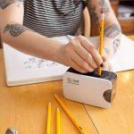 Colore # 2 Crayons avec des gommes à effacer - Haute Qualité en graphite HB / No 2 Crayon en bois jaune - Équipement important pour l'école d'Art, pour l'écriture, le dessin et l'esquisse avec caoutchouc - Convient aux enfants et aux adultes - 144 pièces. image 4 produit