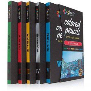 Colore - Crayons d'Édition dictionnaire - Ensemble de 60 crayons de couleur Prime Pré-taillés pour dessiner des pages à colorier - Un super équipement d'art scolaire pour enfants et adultes - Livres à colorier - 60 couleurs vibrantes de la marque Coloured image 0 produit