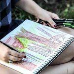 Colore Crayons de couleur - Ensemble de 72 crayons de couleur prime Pré-taillés pour dessiner des pages à colorier - Un super équipement d'art scolaire pour enfants et adultes - Livres à colorier- 72 couleurs de la marque Colore image 5 produit