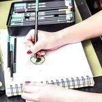 Colore Crayons de couleur - Ensemble de 72 crayons de couleur prime Pré-taillés pour dessiner des pages à colorier - Un super équipement d'art scolaire pour enfants et adultes - Livres à colorier- 72 couleurs de la marque Colore image 2 produit