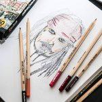 Colore - Crayons de couleur–Lot de 50pastels de haute qualité pour dessin et coloriage de la marque Colore image 2 produit
