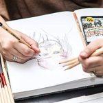 Colore - Crayons de couleur–Lot de 50pastels de haute qualité pour dessin et coloriage de la marque Colore image 4 produit