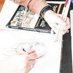 Colore - Crayons de couleur–Lot de 50pastels de haute qualité pour dessin et coloriage de la marque Colore image 3 produit