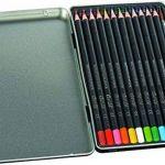 Conté Crayons de Couleur Aquarellables - Boîte Métallique de 12 + 1 Pinceau de la marque Conte image 1 produit
