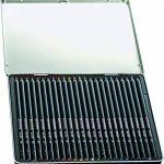 Conté Crayons de Couleur - Boîte Métallique de 24 de la marque Conte image 1 produit