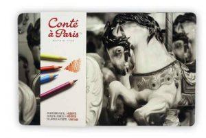 Conté à Paris - Boîte de 24 Crayons Pastels Couleurs Assorties de la marque Conté à Paris image 0 produit