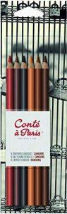 Conté à Paris - Blister de 6 Crayons Esquisse Sanguine Couleurs Assorties de la marque Conté à Paris image 0 produit