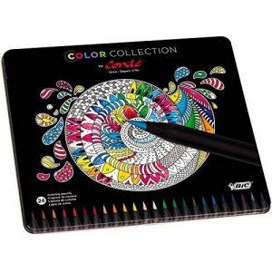 Conte Coloring Edition Limitée Pack de 24 Crayons Couleurs Vives de la marque Conte image 0 produit