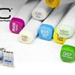 Copic Ciao Lot de 72 Marqueurs de dessin Assortiment A de la marque Copic Ciao image 2 produit