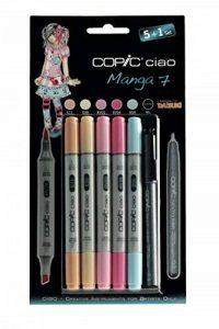 Copic kit marqueur ciao 5+1, Manga 7 de la marque COPIC image 0 produit
