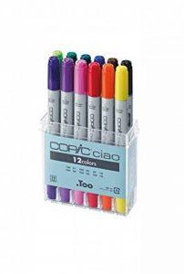 Copic marqueurs Ciao Pochette de 12 couleurs spécial manga (Import Royaume Uni) de la marque Copic Ciao image 0 produit