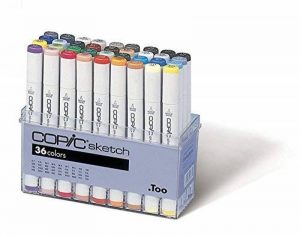 Copic Sketch - Set de 36 marqueurs (Import Japon) de la marque COPIC image 0 produit