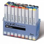 Copic Sketch - Set de 36 marqueurs (Import Japon) de la marque COPIC image 4 produit