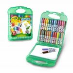 Crayola 04-5227-E-000 - Mallette De Mini Feutres À Colorier - Lavables de la marque Crayola image 2 produit