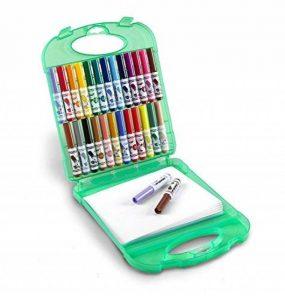 Crayola 04-5227-E-000 - Mallette De Mini Feutres À Colorier - Lavables de la marque Crayola image 0 produit