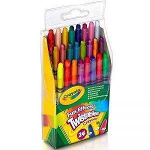 Crayola 24 crayons à effets spéciaux Twistables de la marque Crayola image 0 produit