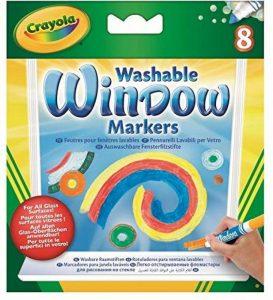 Crayola 58-8165-E-000 - Loisir Créatif - 8 Feutres pour Fenêtres Lavables de la marque Crayola image 0 produit