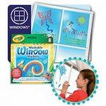 Crayola 58-8165-E-000 - Loisir Créatif - 8 Feutres pour Fenêtres Lavables de la marque Crayola image 2 produit