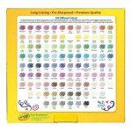 Crayola Crayons de couleur (lot de 100) de la marque Crayola image 3 produit