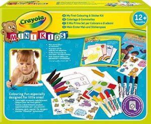 Crayola Mini Kids - 10570 - Kit de Loisir Créatif - coloriage et gommettes de la marque Crayola image 0 produit