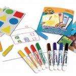 Crayola Mini Kids - 10570 - Kit de Loisir Créatif - coloriage et gommettes de la marque Crayola image 2 produit