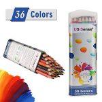 Crayon, Crayon de couleur de 36, Set idéal pour esquissiers, artistes, adultes et enfants de la marque ivenus image 1 produit