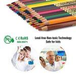 Crayon, Crayon de couleur de 36, Set idéal pour esquissiers, artistes, adultes et enfants de la marque ivenus image 4 produit
