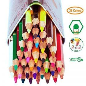 Crayon, Crayon de couleur de 36, Set idéal pour esquissiers, artistes, adultes et enfants de la marque ivenus image 0 produit