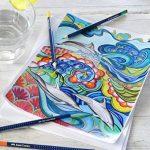 crayon de couleur aquarelable TOP 0 image 3 produit