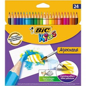 crayon de couleur aquarelable TOP 12 image 0 produit