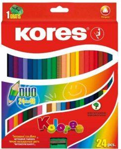 crayon de couleur bicolore TOP 2 image 0 produit