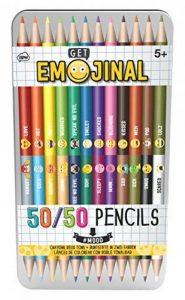 crayon de couleur bicolore TOP 7 image 0 produit